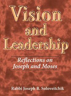 Urim Publications: VISION AND LEADERSHIP: Reflections on