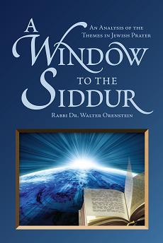 Urim Publications: A WINDOW TO THE SIDDUR: An Analysis of
